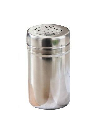 (L, Silver) - iecool Stainless Steel Seasoning Bottle(Small Hole) Silver L