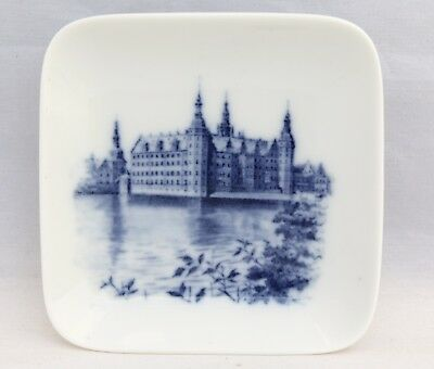 Royal Copenhagen Denmark Butter Pat/Pin Dish - No. 2985-16 - Cathedral