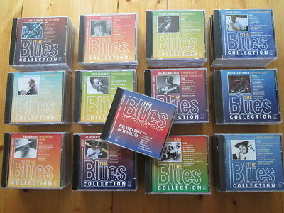 75 CDs - The Blues Collection- komplette Serie 1-75 + Christmas CD - SAMMLUNG