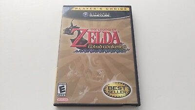 Legend of Zelda The Wind Waker (Nintendo GameCube 2003) Complete Players Choice!