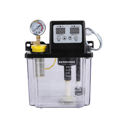2L Automatic lubrication pump Electromagnetic Oil pump Digital display 220V Y