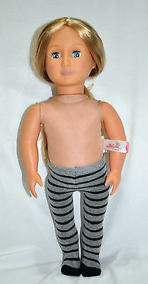 """American Girl Doll Our Generation Journey Girl Gotz 18"""" Dolls Clothes Tights"""