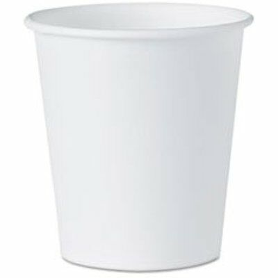New White Paper Water Cups, 3 Oz., 100/Pack