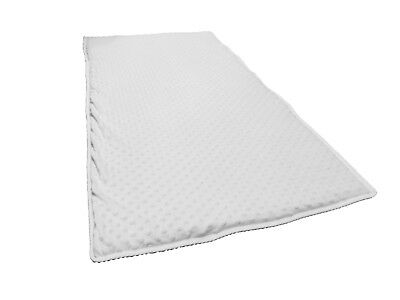 Luxury Soft Quilted Travel Cot Mattress Enhancer To Fit 119 x 59 cm Travel Cots