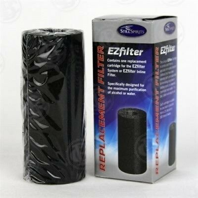 EZFILTER CHARCOAL REPLACEMENT FILTER CARTRIDGE for STILL SPIRITS MOONSHINE