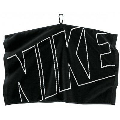 (black/white) - NEW Nike Golf Jacquard Towel 41cm x 60cm - Choose Colour