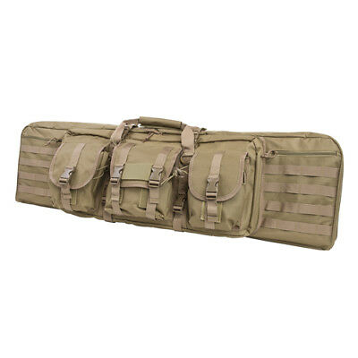 "NcStar 42"" Padded Double Carbine Case with Heavy Duty PVC Construction - Tan"