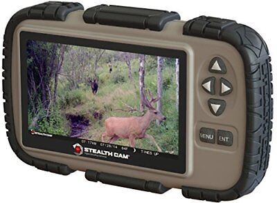"Stealth Cam STC-CRV43 Accessory SD Card Reader and Viewer with 4.3"" LCD Screen"