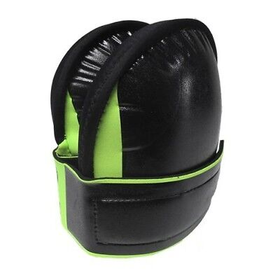 Troxell - Large Super Soft Neoprene Knee Pads - High Visibility Green