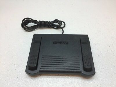 HTH Engineering Pedal HDP-3S Dictation Transcriber Foot Pedal Controller - USED
