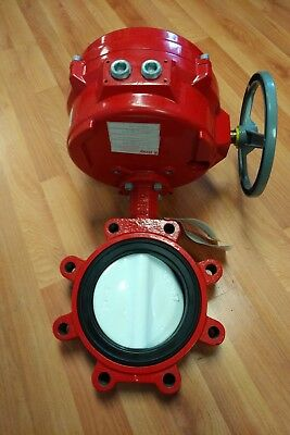 "Bray 70 Series 6"" Electric Actuated Butterfly Valve"