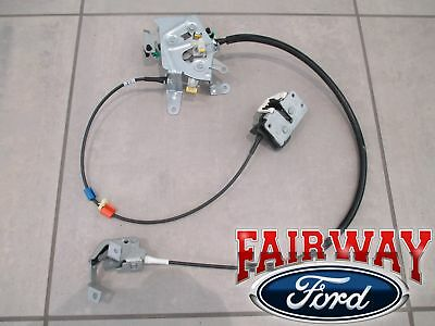 99 Thru 07 Super Duty Oem Ford Rear Door Latch Cable Extended Cab Left Driver 142 95 Picclick