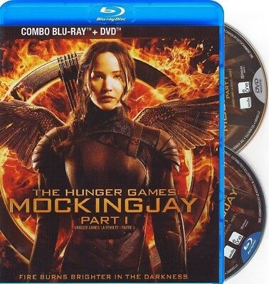 The Hunger Games:mocking Jay Part 1 *New Blu-Ray + Dvd*