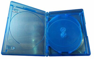 NEW! 2 Pk VIVA ELITE Blu-Ray 3D Replace Case Hold 5 Discs (5 Tray) 15mm Holder