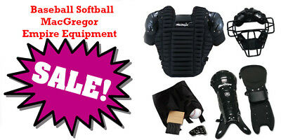 MacGregor® Complete Baseball Softball Umpire Gear Equipment Pack Protector