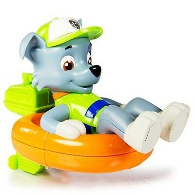 Paw Patrol Paddlin Pups Bath Toy Rocky. Free Delivery