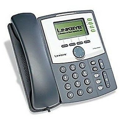 linksys SPA942 VoIP SCHLÜCKCHEN Telefon v2 - Pro Cisco mit 2 Ports Switch