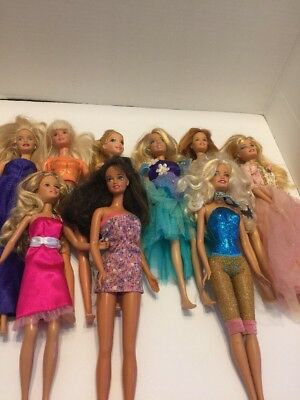 LOT of Barbie Fashion Doll Gowns Dresses Clothes Outfits Handmade ...