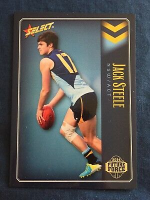 2014 Future Force Select AFL Football Card NSW ACT #10 Jack Steele
