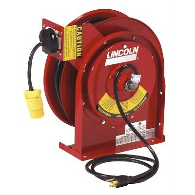 Heavy Duty Extension Cord Reel with 20amp Receptacle LIN91031 Brand New!