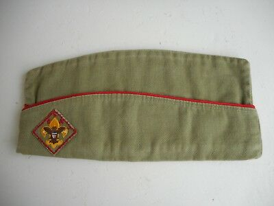 BSA 1960s Medium 6 3/4-6 7/8 Garrison Hat Sanforized Boy Scouts of America
