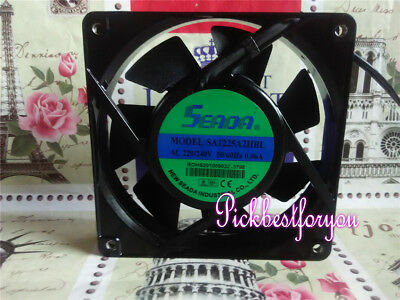 SA1225A2HBL AC220-240V 50/60HZ 0.07A 120*120*25mm  Aluminum frame AC fan MS58 QL