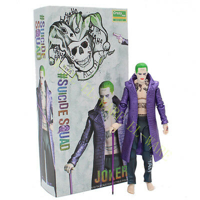"Crazy Toys DC Comic The Joker 6"" Suicide Squad 1/12 Action Figurine Modèle"