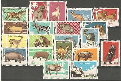 Animals 20 Used stamps complete set 1964
