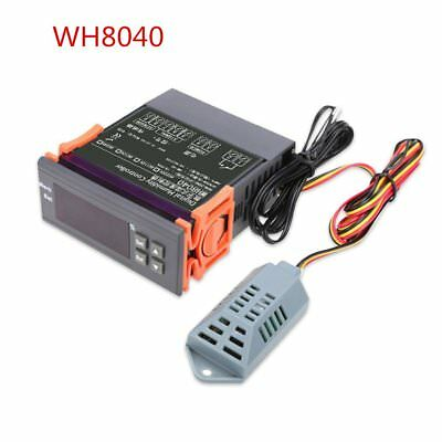 12V/24V/110V/220V Digital Air Humidity Control Controller WH8040 Range 1%~99% KZ