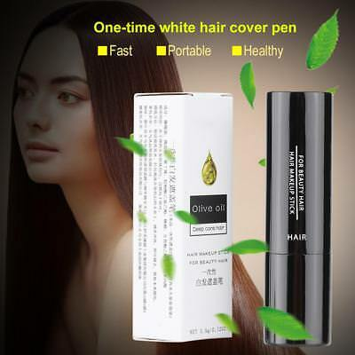 Temporary Makeup Cover Grey White Hair Touch Up Hair dye Hair Color Lipstick BO