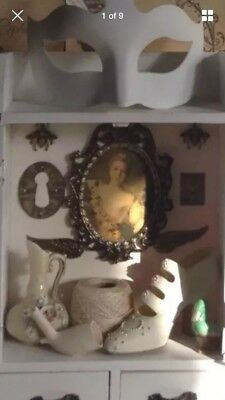Witches' Cabinet Of Curiosities Assemblage Mixed Media Collage Altered Art