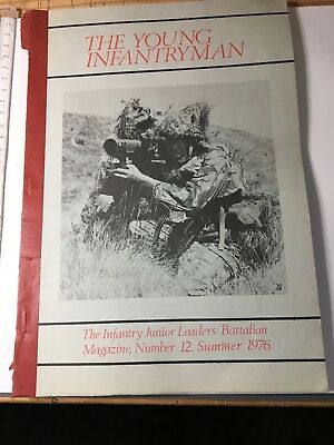 Young Infantryman magazine from IJLB 1976 in used condition