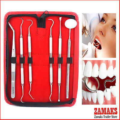 Hygienist Dental Examination Kit Plaque Remover Tartar Scraper Oral Care Kits CE