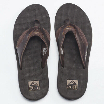 Reef Reef Fanning Leather Sandals in Brown