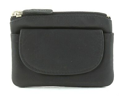 Small Leather Zipper Pouch