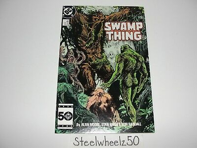 Swamp Thing #47 Comic DC Vertigo 1986 2nd Series Ancestors Alan Moore Stan Woch