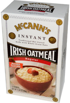 NEW MCCANN'S IRISH OATMEAL INSTANT OAT MEAL CEREALS and BREAKFAST FOODS HEALTHY