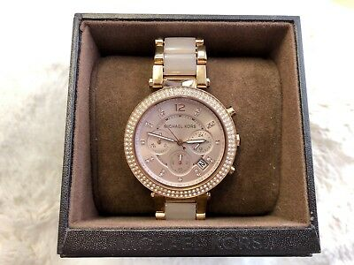 Michael Kors Rose Gold Watch for Women-MK5896