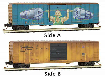 Micro-Trains MTL N-Scale 50ft Standard Box Car Wisconsin /& Southern #503194