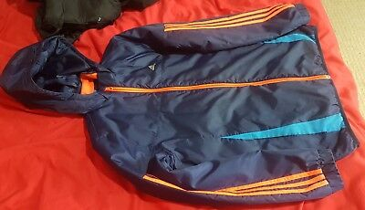 Kids Adidas 13/14 Year Jacket weather & wind proof RRP £89.99 Fast Shipping