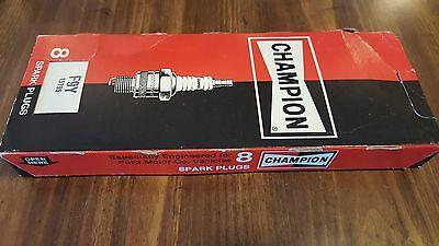 Champion Spark Plugs F9Y F-9Y 1966-70 Ford Lincoln Mercury 8 Pack NOS