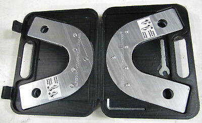 Gorilla Ladder 4 in 1 Static Hinge set (pair) with case, tools and instructions