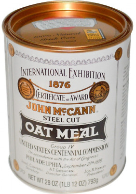 NEW MCCANN'S IRISH OATMEAL STEEL CUT OAT MEAL CEREALS and BREAKFAST FOODS
