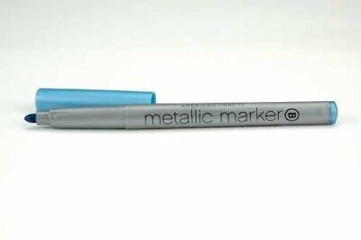 Metallic Marker Broad Point -Blue. American Crafts. Shipping Included