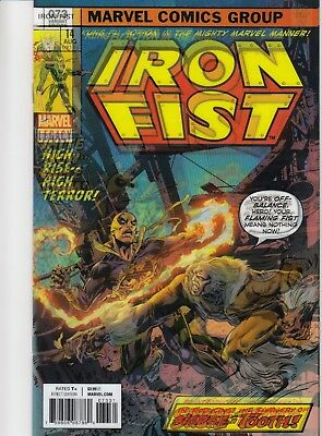 Iron Fist #73 Mike Perkins Lenticularcover Marvel Legacy