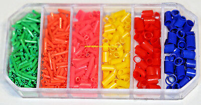 Assorted pole float fishing rubbers boxed