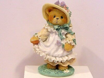Cherished Teddies - Hope -  Our Love Is Ever-Blooming  Figurine