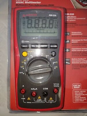 Amprobe Am-520 Hvac Multimeter, New In Package, Free Shipping!!