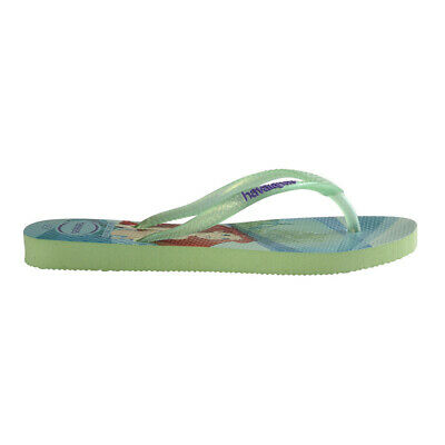 City Beach Havaianas Girls Little Mermaid Thongs