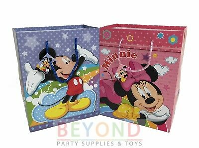 Mickey Minnie Mouse Goody Bags Party Favor Goodie Gift Birthday